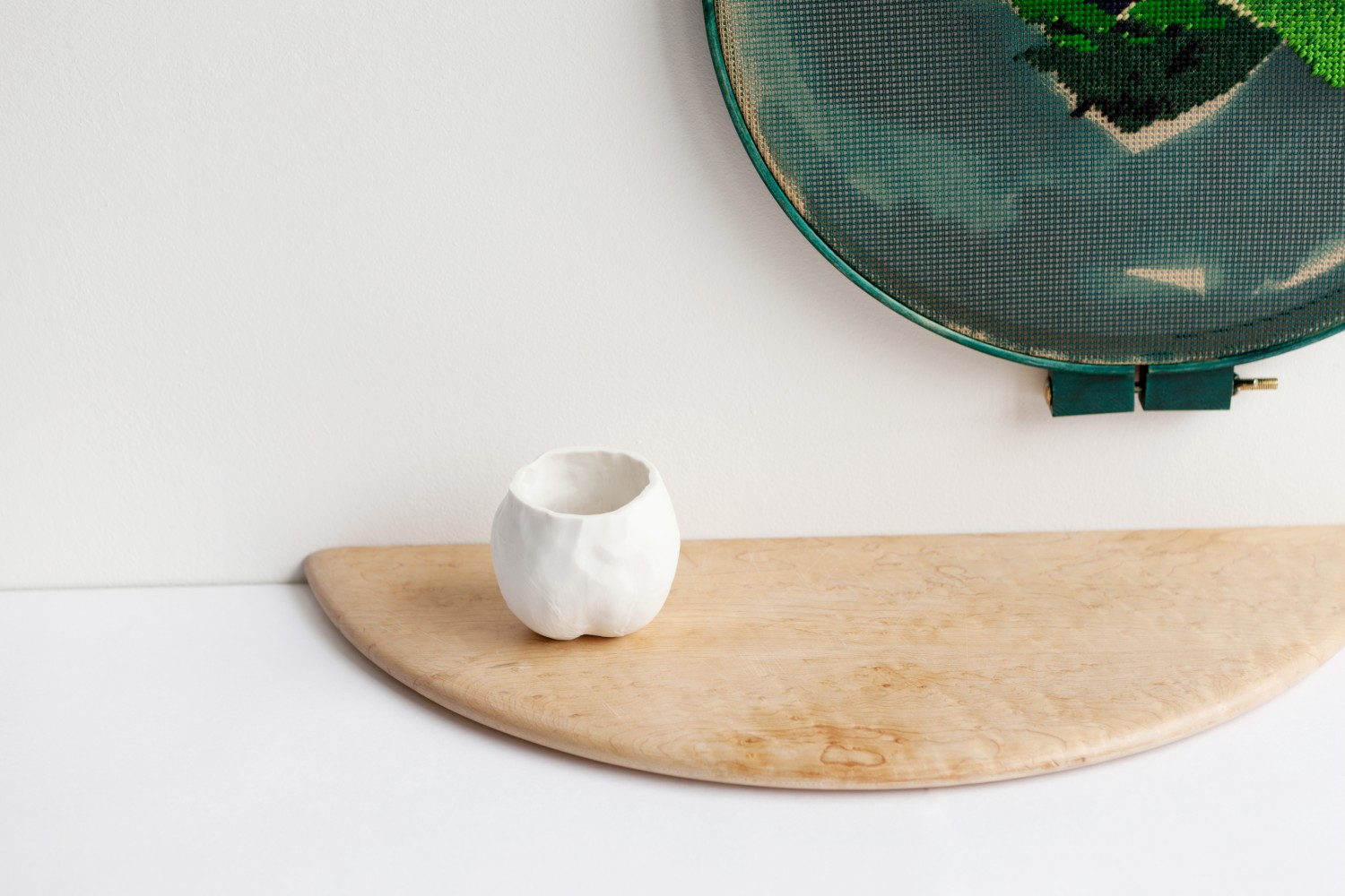 Have you seen this cup? It could be anywhere here, really. Bethan Lloyd Worthington Many a slip, Marsden Woo Gallery