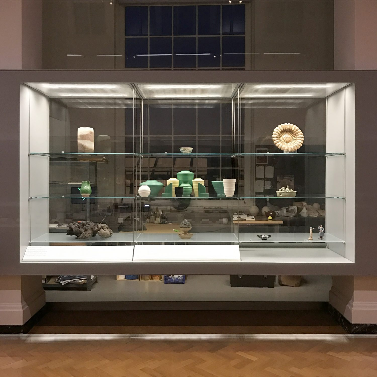 Bethan Lloyd Worthington Residency Display Case V&A