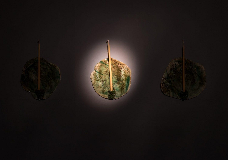 Bethan Lloyd Worthington Showcave Shell-Lit Siambr Sidney Cooper Gallery