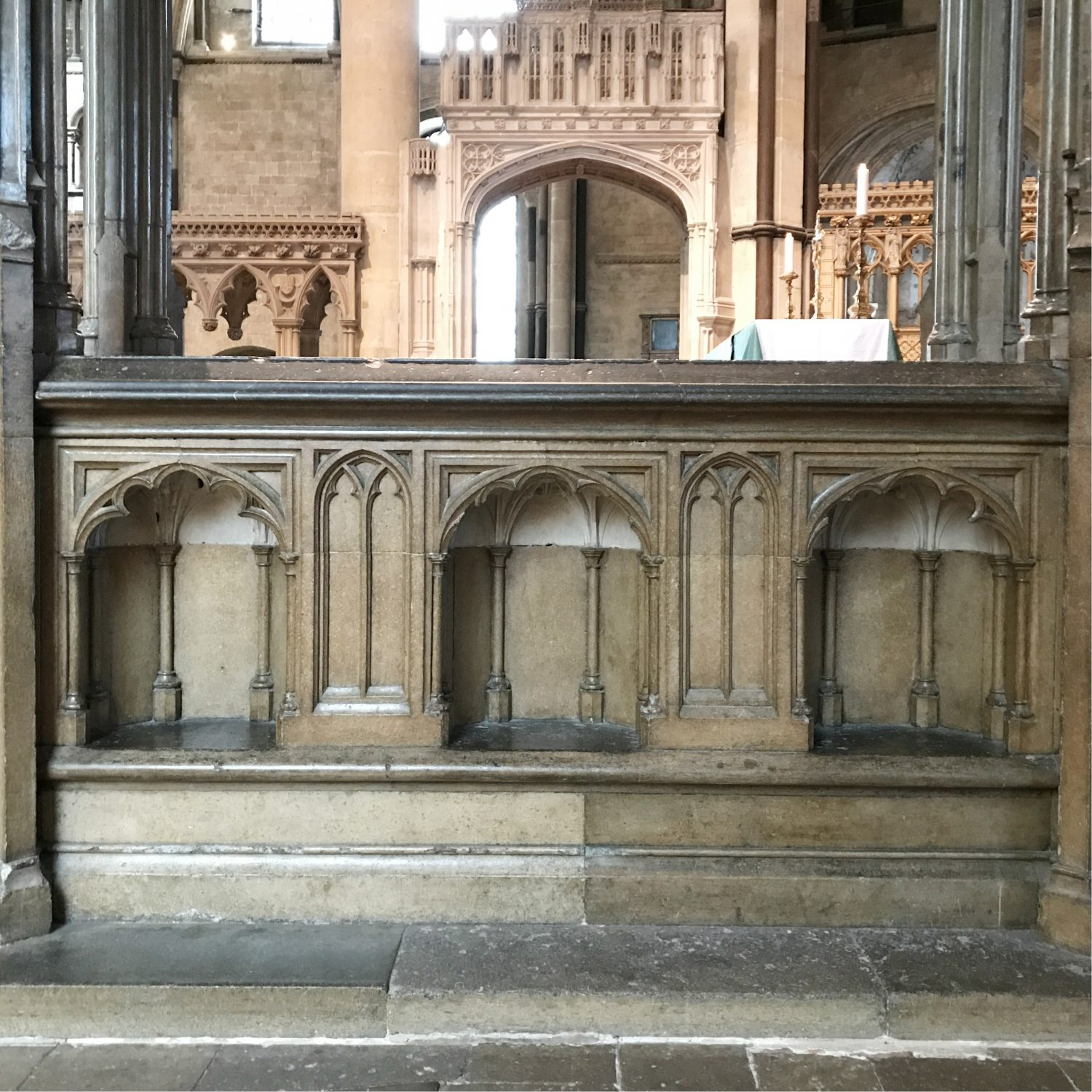 Bethan Lloyd Worthington Simon of Sudbury's tomb, Canterbury Cathedral
